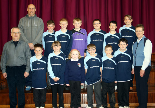 Mintlaw Primary Football Strip