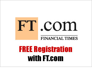 Register with the FT.com