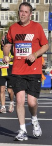 David Benford - Amsterdam Marathon 2010