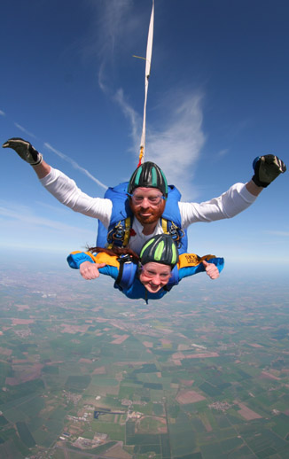 Cystinosis Foundation UK Sky Dive