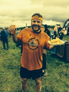 Iain after the Tough Mudder